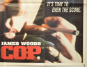 COP (Bottom Right) Cinema Quad Movie Poster