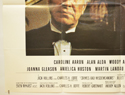 CRIMES AND MISDEMEANORS (Bottom Left) Cinema Quad Movie Poster