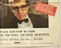 CRIMES AND MISDEMEANORS (Bottom Right) Cinema Quad Movie Poster