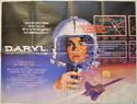 D.A.R.Y.L. Cinema Quad Movie Poster