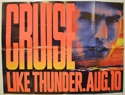 DAYS OF THUNDER Cinema Quad Movie Poster