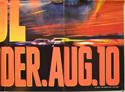 DAYS OF THUNDER (Bottom Right) Cinema Quad Movie Poster