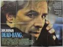 DEAD BANG Cinema Quad Movie Poster