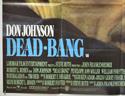 DEAD BANG (Bottom Left) Cinema Quad Movie Poster