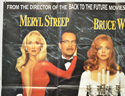 DEATH BECOMES HER (Top Left) Cinema Quad Movie Poster