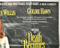 DEATH BECOMES HER (Top Right) Cinema Quad Movie Poster
