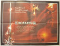 EXCALIBUR Cinema Quad Movie Poster