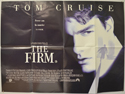 THE FIRM Cinema Quad Movie Poster