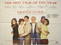 GRAND CANYON Cinema Quad Movie Poster