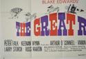 THE GREAT RACE (Bottom Left) Cinema Quad Movie Poster