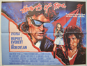 HEARTS OF FIRE Cinema Quad Movie Poster