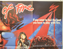 HEARTS OF FIRE (Top Right) Cinema Quad Movie Poster