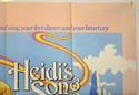 HEIDI'S SONG (Top Right) Cinema Quad Movie Poster