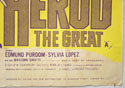 HEROD THE GREAT (Bottom Right) Cinema Quad Movie Poster