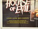HOUSE OF EVIL (Bottom Left) Cinema Quad Movie Poster