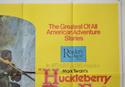 HUCKLEBERRY FINN (Top Right) Cinema Quad Movie Poster