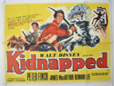 KIDNAPPED Cinema Quad Movie Poster