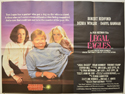 LEGAL EAGLES Cinema Quad Movie Poster