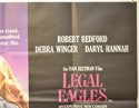 LEGAL EAGLES (Top Right) Cinema Quad Movie Poster