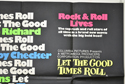 LET THE GOOD TIMES ROLL (Top Right) Cinema Quad Movie Poster