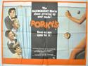 PORKY'S Cinema Quad Movie Poster