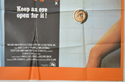 PORKY'S (Bottom Right) Cinema Quad Movie Poster
