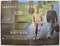 RAIN MAN Cinema Quad Movie Poster