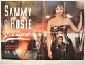 SAMMY AND ROSIE GET LAID Cinema Quad Movie Poster