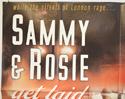 SAMMY AND ROSIE GET LAID (Top Left) Cinema Quad Movie Poster