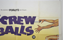 SCREWBALLS (Top Right) Cinema Quad Movie Poster