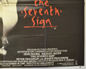 THE SEVENTH SIGN (Bottom Right) Cinema Quad Movie Poster