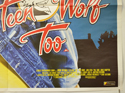 TEEN WOLF TOO (Bottom Right) Cinema Quad Movie Poster