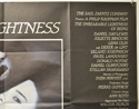 THE UNBEARABLE LIGHTNESS OF BEING (Top Right) Cinema Quad Movie Poster