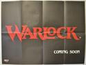 WARLOCK Cinema Quad Movie Poster