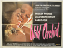 WILD ORCHID Cinema Quad Movie Poster