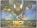 ENEMY MINE Cinema Quad Movie Poster