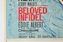 BELOVED INFIDEL (Bottom Left) Cinema Quad Movie Poster