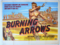 BURNING ARROWS Cinema Quad Movie Poster