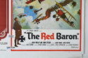 DOC / THE RED BARON (Bottom Right) Cinema Quad Movie Poster