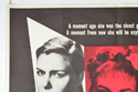 THE THREE FACES OF EVE (Top Left) Cinema Quad Movie Poster