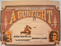 A GUNFIGHT Cinema Quad Movie Poster