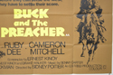 BUCK AND THE PREACHER (Bottom Right) Cinema Quad Movie Poster