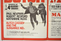 BUTCH CASSIDY AND THE SUNDANCE KID / M.A.S.H. (Bottom Left) Cinema Quad Movie Poster