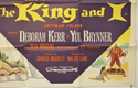 THE KING AND I (Bottom Right) Cinema Quad Movie Poster