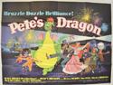 PETE'S DRAGON Cinema Quad Movie Poster