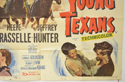 THREE YOUNG TEXANS (Bottom Right) Cinema Quad Movie Poster