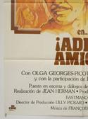 ADIOS AMIGO (Bottom Left) Cinema Spanish Movie Poster