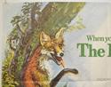 THE BELSTONE FOX (Top Left) Cinema Quad Movie Poster
