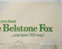 THE BELSTONE FOX (Top Right) Cinema Quad Movie Poster