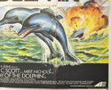 THE DAY OF THE DOLPHIN (Bottom Right) Cinema Quad Movie Poster